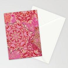 Boho Floral Mandela 3 Stationery Cards