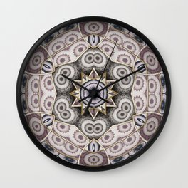 Mandala Globe Wall Clock