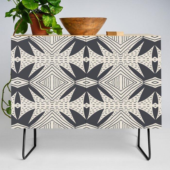 Modern Credenza Cupboard | Ibiza by Holli Zollinger - Black - Birch - Society6