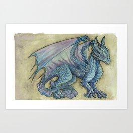 Adolescent Dragon Art Print