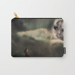 Li Po Affair with the Moon Illustration Carry-All Pouch