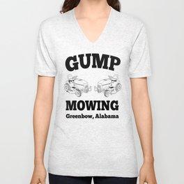 Gump Mowing - Forrest Gump Unisex V-Neck