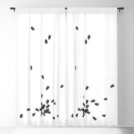 Bugs: abstract Isopod Blackout Curtain