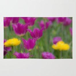 Purple Tulps Rug