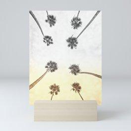 Morning Palm Trees Mini Art Print