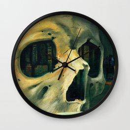 Civilizations Oil Painting Wall Clock