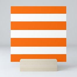 Mariniere marinière Orange Mini Art Print