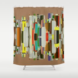 Abstract Composition 636 Shower Curtain