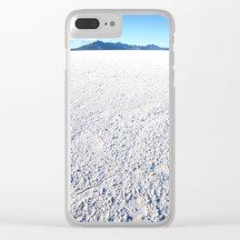 Bonneville Salt Flats, Utah Clear iPhone Case