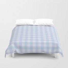 Gingham Pattern - Blue Duvet Cover