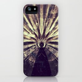 Geometric Art - SUN iPhone Case