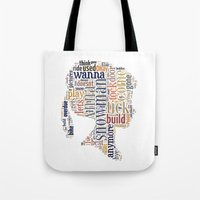 anna Tote Bags featuring Anna by MollyW