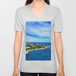 Blue Island Criuse Unisex V-Neck