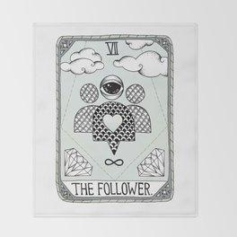 The Follower Throw Blanket