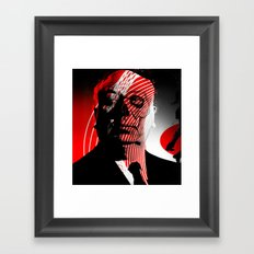 shadow death heroes HITCHCOCK Framed Art Print