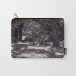 Gardens Park Bench Seat Carry-All Pouch