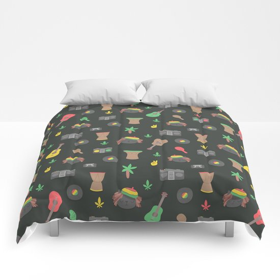 Cute Reggae Comforters