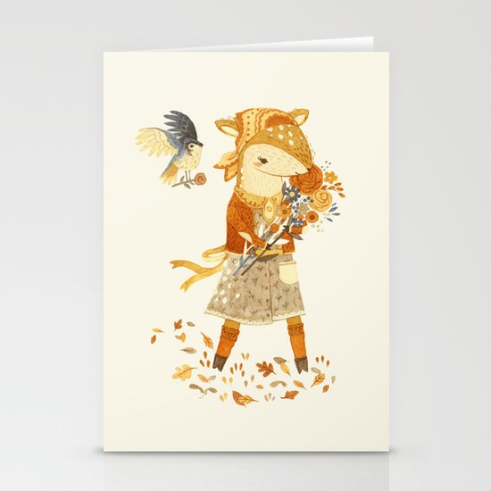 Dakota the Daisy Deer Stationery Cards