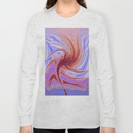 Spiritual Whirling Long Sleeve T-shirt