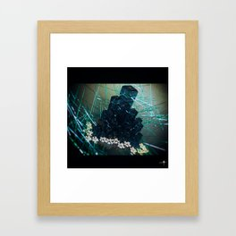Crystaline Framed Art Print