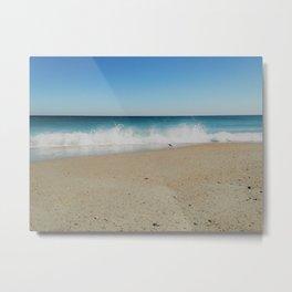 Sandpiper Waves Metal Print