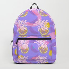 Funky Fruit Print Backpack