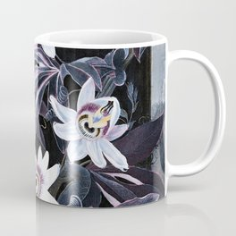 Temple of Flora Blue Lavender Mauve Coffee Mug