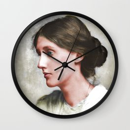 Virginia Woolf Wall Clock
