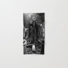 V. The Hierophant Tarot Card Illustration  Hand & Bath Towel