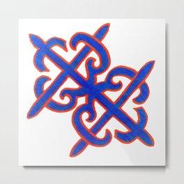 Abstract Designz - 5 Metal Print