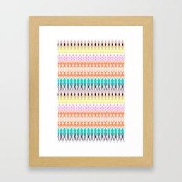 Candy Tribal Framed Art Print