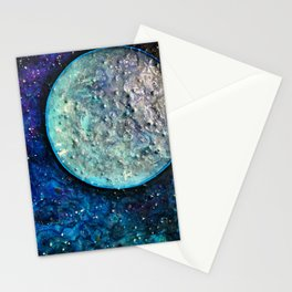 Wandering Moon Stationery Cards