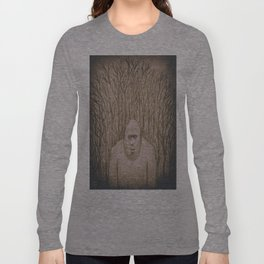 Sasquatch in the woods Long Sleeve T-shirt