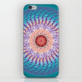 Calm Mandala - מנדלה רוגע iPhone Skin