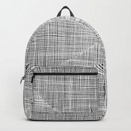 Ink Weaves: White Alabaster Backpack