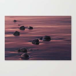 Pebble Formation Canvas Print