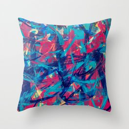 A Tribe Called Quest Part 2: Separate Together  Throw Pillow