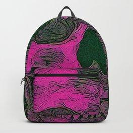 SKULL PINK Backpack