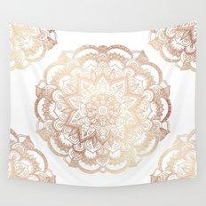 Mandala Gold Shine Wall Tapestry