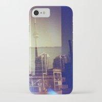 toronto iPhone & iPod Cases featuring Toronto by Jordan Osbourne