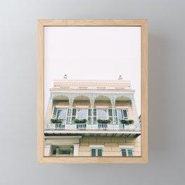 Vieux Carré New Orleans Framed Mini Art Print