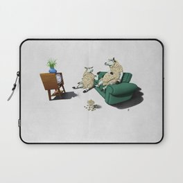 Sheep (Wordless) Laptop Sleeve