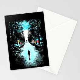 Lonely Walk Stationery Cards