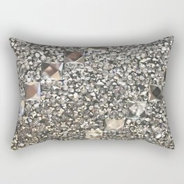 Diamond Chips Pattern Rectangular Pillow