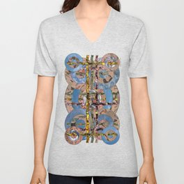 The Problem with Perspective 01 Unisex V-Neck