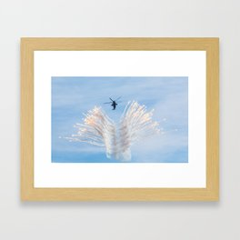 Royal Navy Sea King Framed Art Print