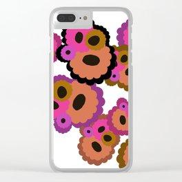 Color Fun Clear iPhone Case