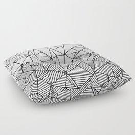 Ab Half n Half Floor Pillow