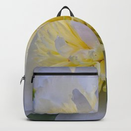 White Peony Backpack