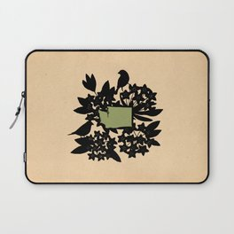Washington - State Papercut Print Laptop Sleeve